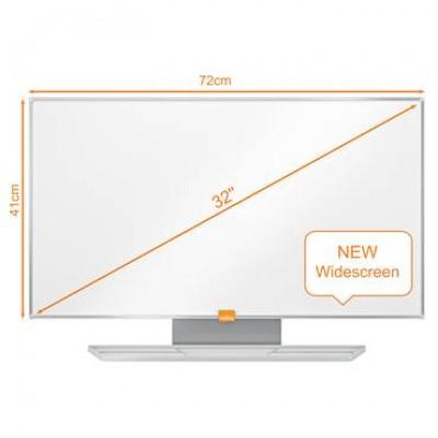 "Whiteboard Nobo Widescreen 32"""