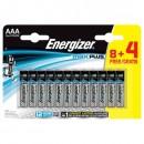 Batteri Energizer Max AAA 12st/fpk (Miljö)