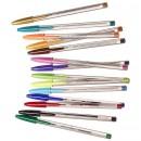 Penna Bic Cristal Colour 15st/fpk