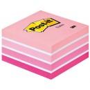 Post-it Kub 76x76mm Intensive Pink (Miljö)