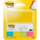 Märkflikar Post-it Markers 20x38mm 5x50st/fpk (Miljö)