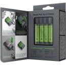 Batteriladdare och Powerbank kombinerad - GP Charge AnyWay 2-i-1