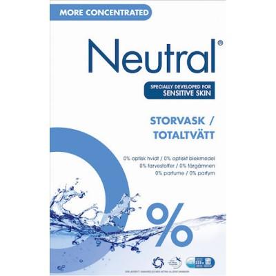 Tvättmedel Neutral Total 8,92Kg (Miljö)