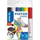 Märkpenna Pilot Pintor Classic 6st/fpk