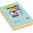Post-it Super Sticky Miami 101x152mm 3st/fpk (Miljö)