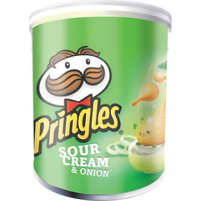 Pringles Chips 40gram Sour Cream & Onion 12st/fpk