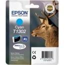 Bläckpatron Epson T1302 XL Cyan