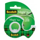 Dokumenttejp Scotch Magic 810 19mmx7,5m
