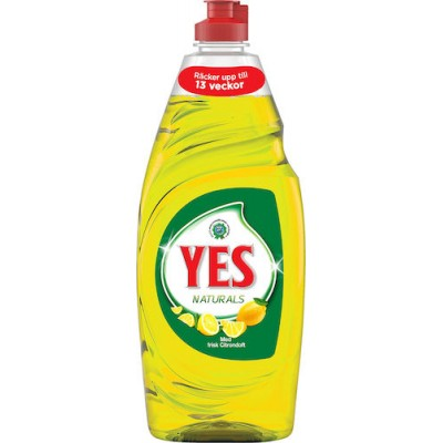 Diskmedel Yes 650ml Citron (Miljö)