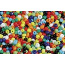 Pärlor Rocailles 250g Mix Färg