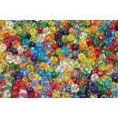 Pärlor Rocailles 250g Transparent Mix