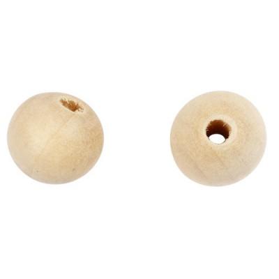 Träpärlor 10mm 500st/fpk