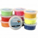 Foam Clay Mix Färg 35g 10st/fpk