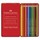 Färgpenna Faber Castell Classic 12st/fpk