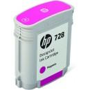 Bläckpatron HP Nr728 F9J62A 40ml Magenta