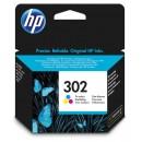 Bläckpatron HP Nr302 Cyan / Magenta / Gul
