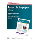 Fotopapper Office Depot Gloss Laser 135g A4 250ark/fp