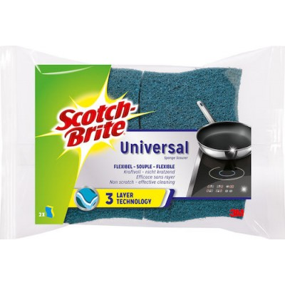 Svamp Universal Scotch Brite 2st/fpk