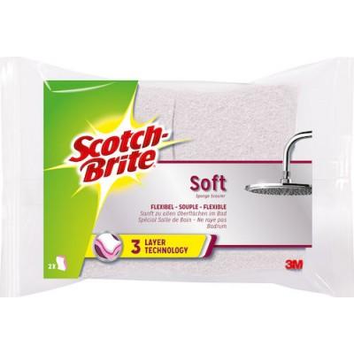 Svamp Soft Scotch Brite 2st/fpk