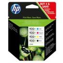 Bläckpatron HP Nr920 XL Svart,Cyan,Gul,Magenta