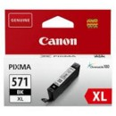 Bläckpatron Canon CLI-571BK XL Svart