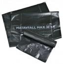 Sopsäck 60L Matavfall Svart 6x25st/rulle (Miljo)
