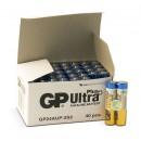 Batteri GP Ultra Plus AAA/LR03 40st/fpk (Miljö)