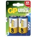 Batteri GP Ultra Plus D 20st/fpk (Miljö)