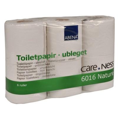 CareNess Toalettpapper Nature 38m 64rullar/bal (Miljö)