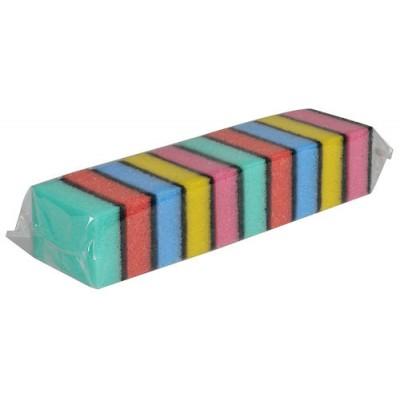 Kökssvamp i olika färger 10/fpk