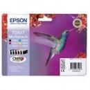 Bläckpatron Epson T0807 6-Färg