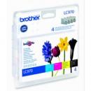 Bläckpatron Brother LC970V 4-Färg