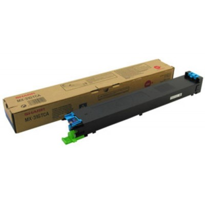 Toner Sharp MX31GTCA Cyan