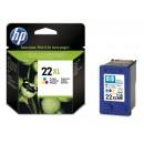 Bläckpatron HP Nr22XL 3-Färg