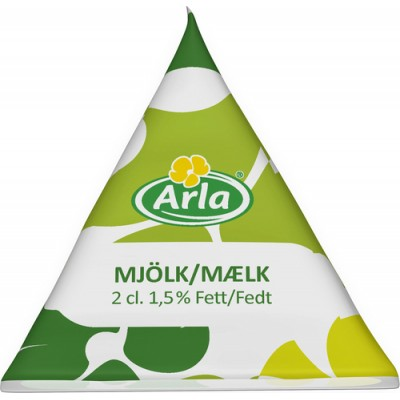 Kaffemjölk Mellanmjölk 1,5% 2cl 100st/fpk