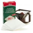 Kaffefilter Pyramid 202 100st/fpk (Miljö)