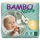 Blöja Bambo Nature 5-9Kg  6x33st/fpk (Miljö)