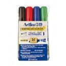 Whiteboardpenna Artline 519 Sned 5mm 4-Set