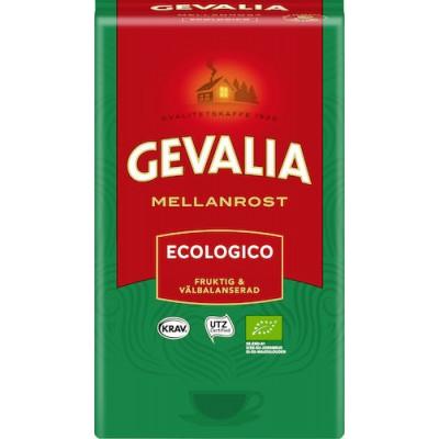 Kaffe Gevalia Ecologico Mellanrost 12x450g (Miljö)