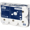 Toalettpapper Tork T8 SmartOne Mjuk 6rullar/fpk