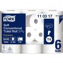 Toalettpapper Tork T4 Premium 3-lager Extra Mjukt 42rullar/bal