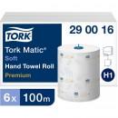 Pappershandduk på Rulle Tork H1 Matic Premium Mjuk 6st/fpk