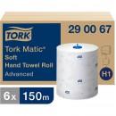 Pappershandduk på Rulle Tork H1 Matic Advanced Mjuk 6st/fpk
