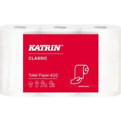 Toalettpapper Katrin Classic Toilet 400 42rullar/bal
