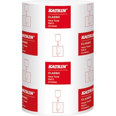 Handtorkningspapper Katrin Classic S Coreless 12rullar/kart (Miljö)