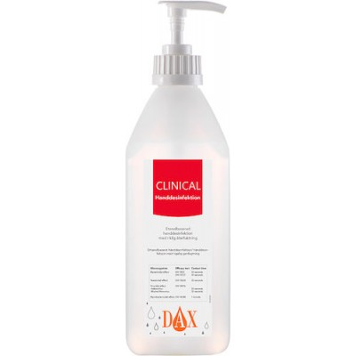 DAX Clinical Handdesinfektion 600ml
