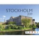 Väggkalender Stockholm (Miljö)