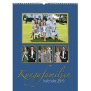 Väggkalender Kungafamiljen (Miljö)