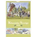 Väggkalender Klassiska Sverige (Miljö)