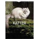 Väggkalender Katt (Miljö)